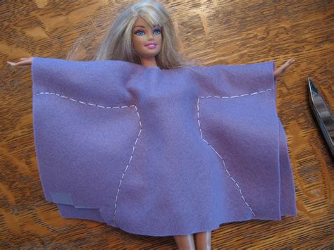 Simple Felt Barbie Clothes