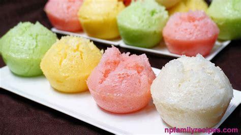 Cetakan Banana Steam Cake steamed rice cake recipe b 225 nh b 242 hấp npfamily recipes