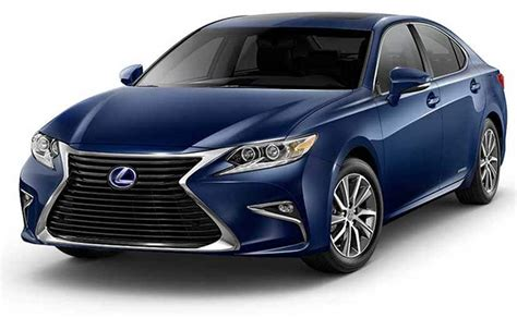 Lexus Es 300h Launched In India; Prices Start At Rs. 55.27