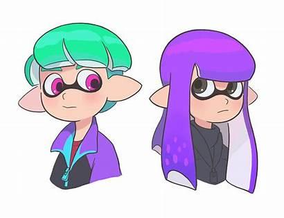Hairstyles Squid Inkling Orca Drew Hope Drawings