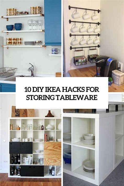 cabinets for laundry room 10 diy ikea hacks for storing tableware in your kitchen