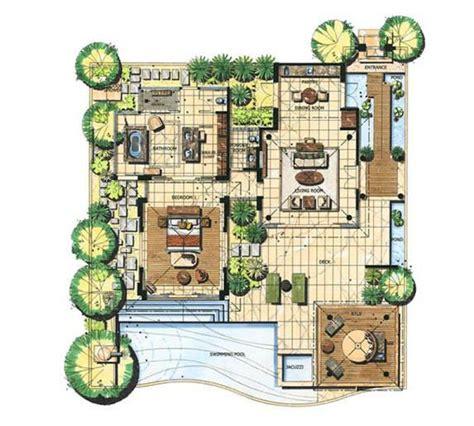 bali banyan tree villa floor plan google architect
