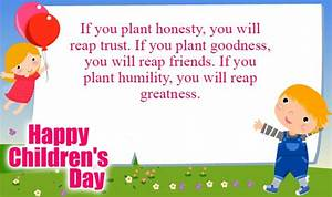 Happy Childrens Day Messages, Wishes, SMS, Quotes - Human ...