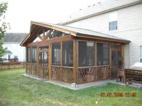 Enclosed Patio Kit Home Outdoor Decoration Enjoying the Scenery with Enclosed Porch Kits