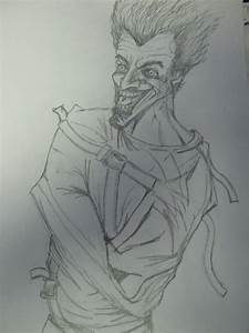 Joker Arkham Inmate by Ditch-scrawls on DeviantArt