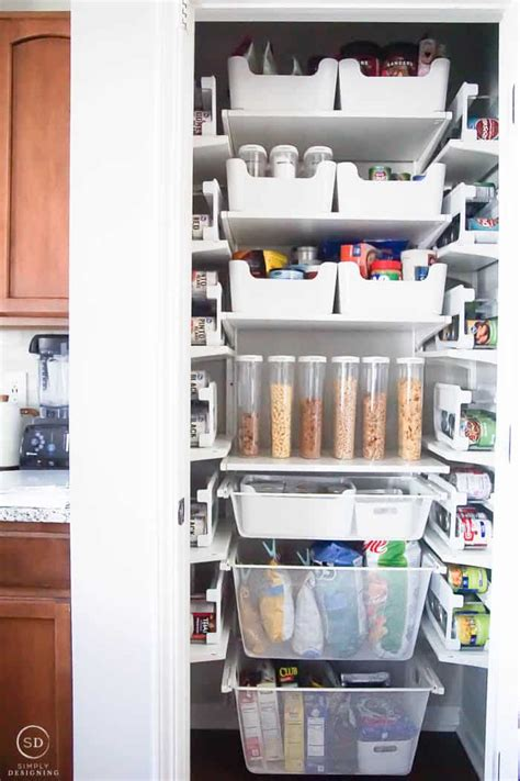 How To Organize A Closet Under The Stairs & Pantry