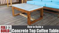 build a coffee table Diy Outdoor Bench Or Outdoor Coffee Table The Homestead ...