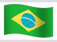 Brasilien Fahne Gif Animation