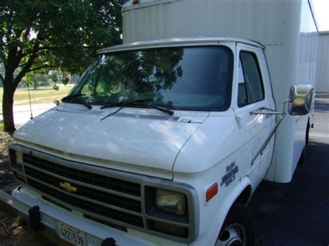 purchase used 1995 chevy g30 box in branson missouri united states