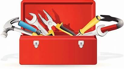 Toolbox Open Tool Clipart Box Vector Clip