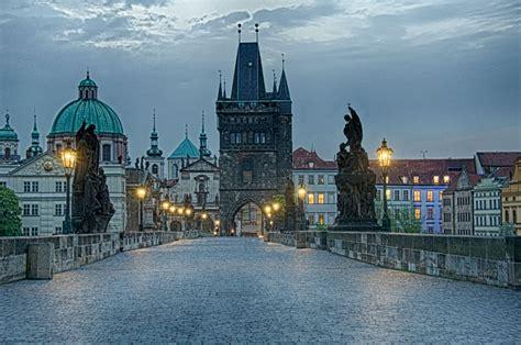 Charles Bridge Stone Bridge Karlův Most Prague Czech
