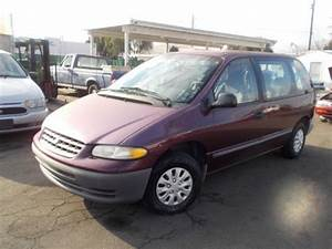 Purchase Used 1999 Plymouth Voyager  No Reserve In Orange