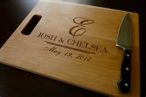 personalized wedding gift personalized cutting board custom engraved by taylorcraftsengraved