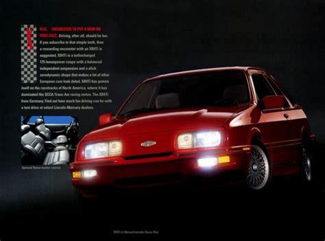 Bizarre Car The Week Merkur Xrti Daily News