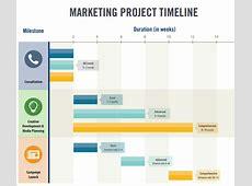 10 Sample Marketing Timeline Templates to Download