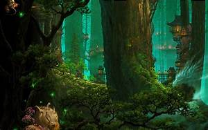 Elven Kingdom Wallpaper and Background Image | 1440x900 ...