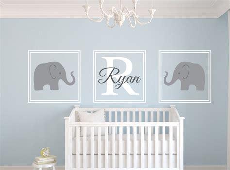 Elephant Wall Decals Nursery Ideas