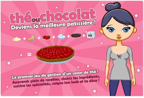 jeu en ligne cuisine the ou chocolat le jeu en ligne de cuisine sucrée