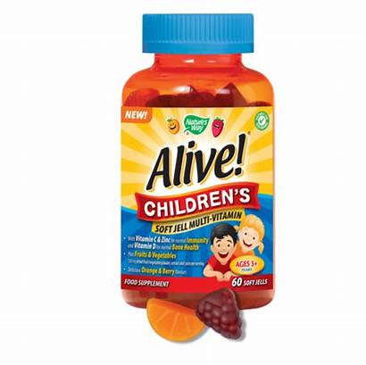 Alive Vitamin Children Multi Soft Jell Way