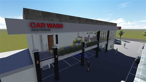 project car wash  restaurant mira desain arsitek oleh