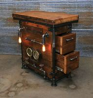 Steampunk Industrial Furniture