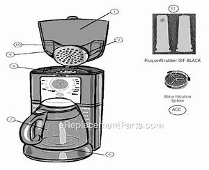 Mr  Coffee Isx26 Parts List And Diagram
