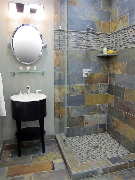 Bathroom Slate Tile Ideas by Best 25 Slate Shower Ideas On Slate Bathroom