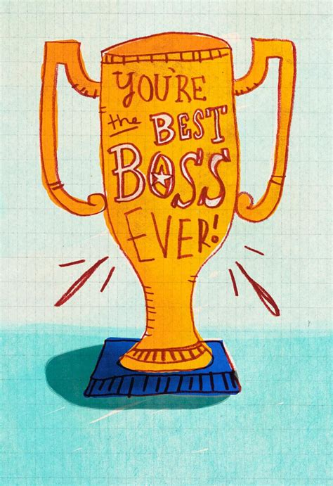 boss award funny bosss day card greeting cards
