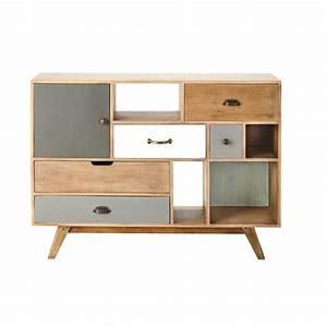 meuble manguier massif With meuble en manguier massif