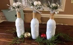 JOY Wine Bottle Christmas Decor