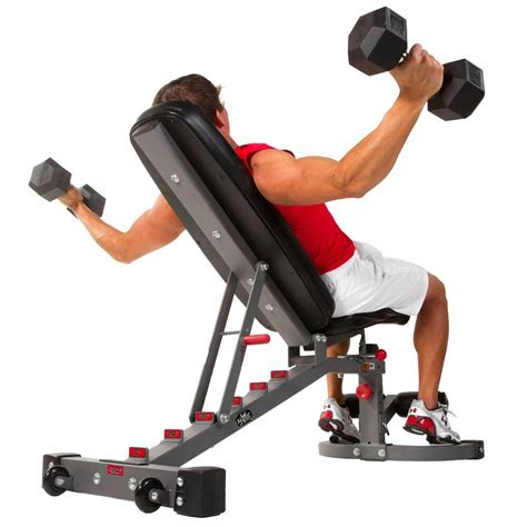 Bench Workout by Xmark 11 Fid Flat Incline Decline Exercise Weight