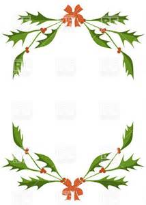 Holly Berries Border Clip Art