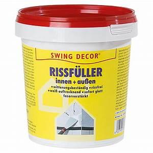 Spachtelmasse Für Aussen : swing decor rissf ller innen au en 1 kg bauhaus ~ Orissabook.com Haus und Dekorationen