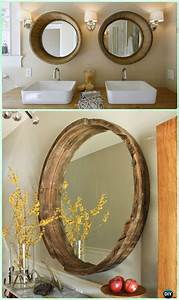 Diy Wine Barrel Mirror Frame Instructions