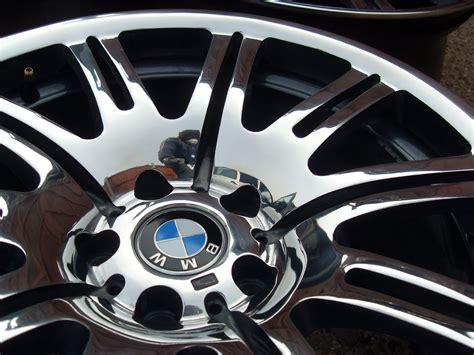 Bmw E46 M3 Alloy Wheel Refurbishment, Mirror Polished