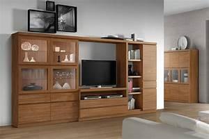 Meuble Deco Design : meuble tv rangement meuble tv blanc bois maison boncolac ~ Teatrodelosmanantiales.com Idées de Décoration