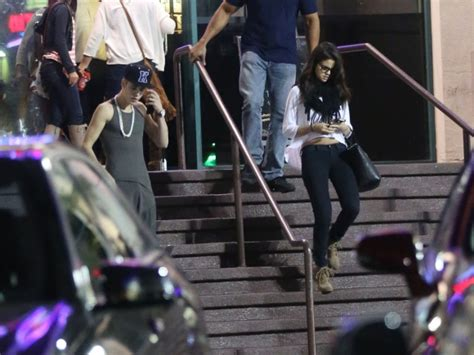 Justin Bieber, Selena Gomez Spotted Kissing at Dream Hotel ...