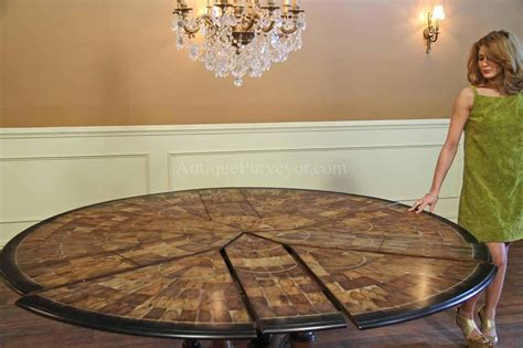 dining table opens spacious hang  point