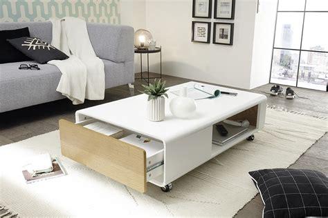 Lade Moderne by Design Salontafel Met Lade Aktie Wonen Nl