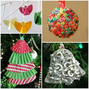 an alphabet of christmas ornament crafts for kids what can we do with paper and glue