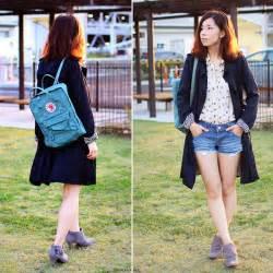 Mizuho K - Fjall Raven Kanken Backpack Zara Trench Coat - 2014/10/18 | LOOKBOOK