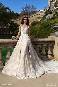 Crystal design 2016 wedding dresses world of bridal for Crystal design wedding dresses price