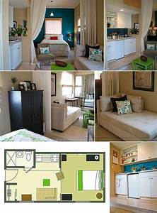 60 best images about studio apartment layout design With decorating ideas for very small apartments