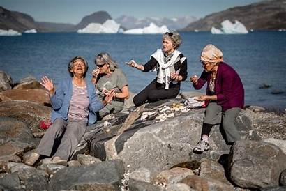 Greenland Population Greenlanders Narsaq Fun