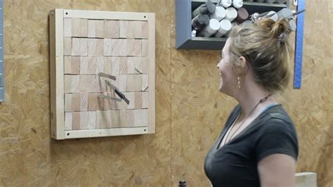 wilkinson kitchen knives diy end grain knife throwing target to master the skill