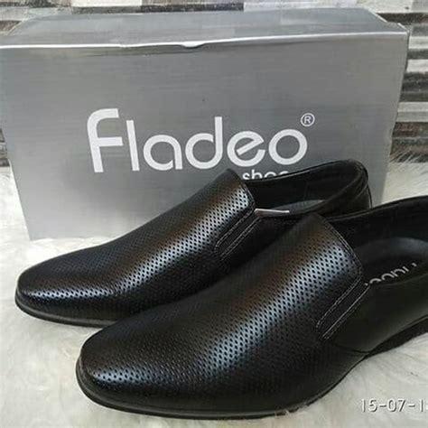 Harga Sepatu Santai Fladeo bally slop pria kulit asli sepatu casual slip on cowok