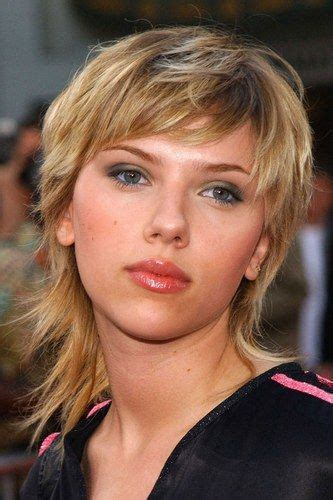 scarlett johansson hairstyles hair evolution mullet pixie