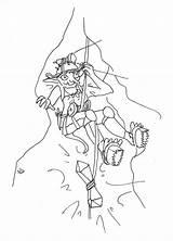 Week Goblin Spelunker Witchsona Female sketch template