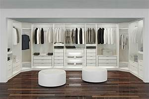 Begehbarer Kleiderschrank Weiß : luxus begehbarer kleiderschrank 120 modelle ~ Orissabook.com Haus und Dekorationen