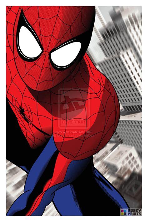 Spiderman  Marvel Comics By Geekyprints On Deviantart